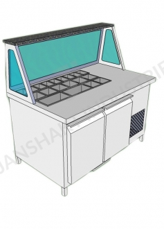 Cold Bain Marie Counter