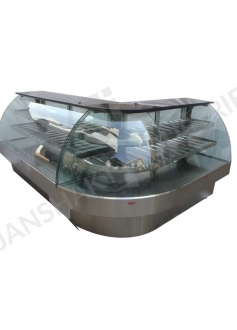Bend Glass Display Counters